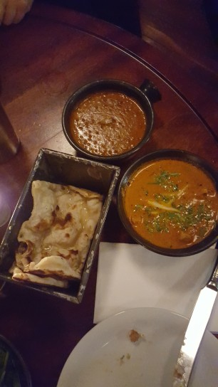 Naan | Chicken Ruby | Daal